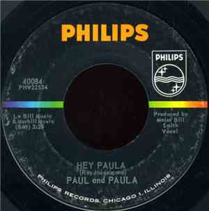 Paul And Paula - Hey Paula / Bobby Is The One