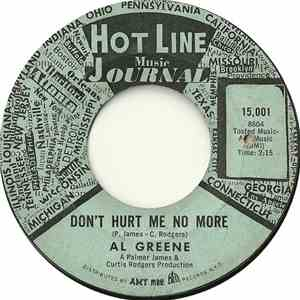 Al Greene - Don't Hurt Me No More / Get Yourself Together