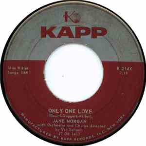 Jane Morgan - Only One Love