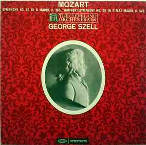 Mozart - George Szell, The Cleveland Orchestra - Symphony No. 35 In D Major ...
