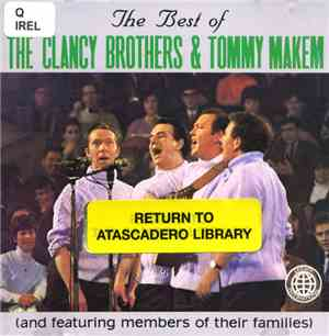 The Clancy Brothers & Tommy Makem - The Best Of The Clancy Brothers & Tommy ...