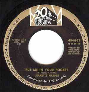Jeanette Harper - Put Me In Your Pocket